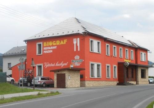 Restaurant Biograf, Loučná nad Desnou